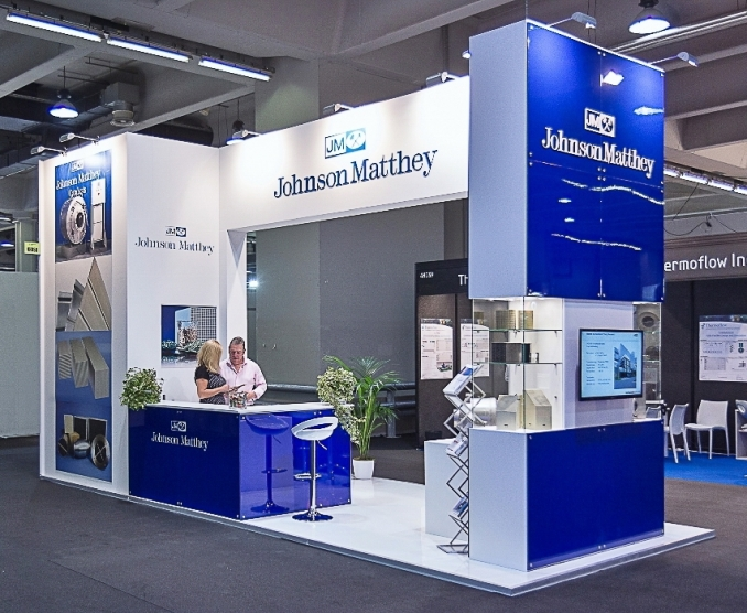 POWERGEN EUROPE - MILAN - Stand Design and Construction