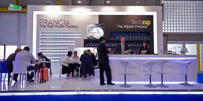 COSMOPROF / COSMOPACK - Bologna - Stand Design and Construction
