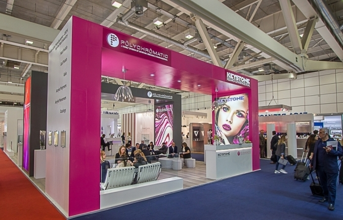 COSMOPROF/COSMOPACK 2017,  Bologna (Italy) - Stand Design and Construction
