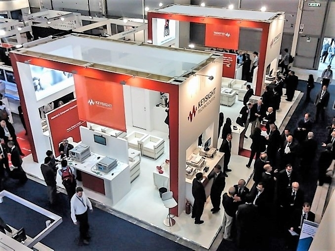EUROPEAN MICROWAVE WEEK - Rome - Stand Design and Construction